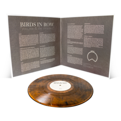 BIRDS IN ROW You, Me & The Violence - Vinyl LP (transparent gold with black smoke)