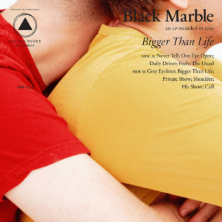 BLACK MARBLE Bigger Than Life - Vinyl LP (half red half white)