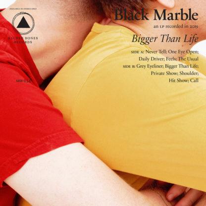 BLACK MARBLE Bigger Than Life - Vinyl LP (half red half white)