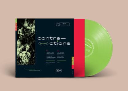 CONTRACTIONS Demain Est Annulé - Vinyl LP (green)