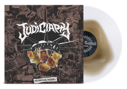 JUDICIARY Surface Noise - Vinyl LP (gold in clear)