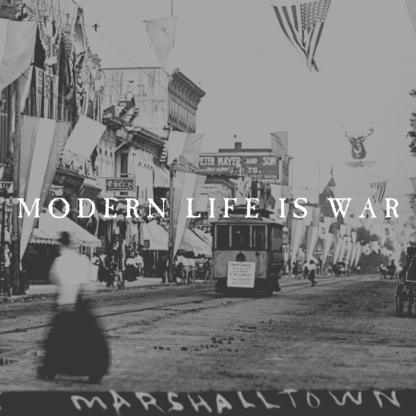 MODERN LIFE IS WAR Witness (reissue) - Vinyl LP (Clear w/ Silver & Black Splatter)