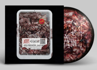 NAPALM DEATH Apex Predator - Easy Meat - Vinyl LP (picture disc)