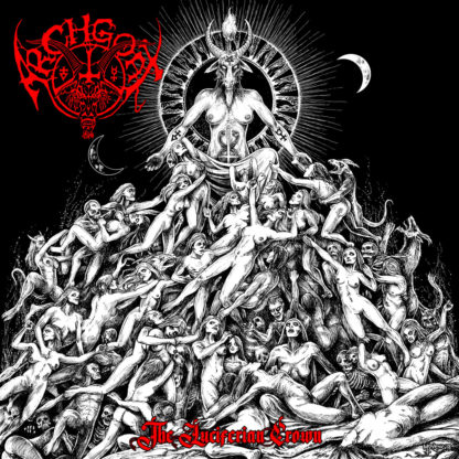 ARCHGOAT The Luciferian Crown - Vinyl LP (transparent red)