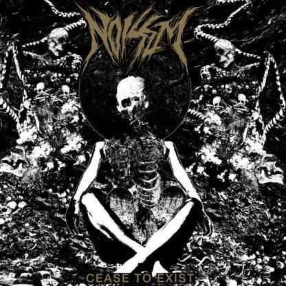 NOISEM Cease To Exist - Vinyl LP (gray white merge with gold splatter)