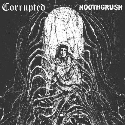 NOOTHGRUSH / CORRUPTED Split LP - Vinyl LP (gray)