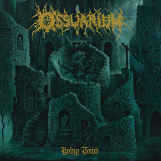 OSSUARIUM Living Tomb - Vinyl LP (coke bottle with black & gold splatter)