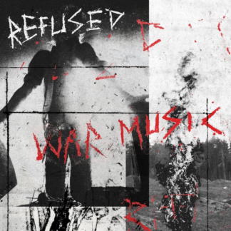 REFUSED War Music - Vinyl LP (bright red)