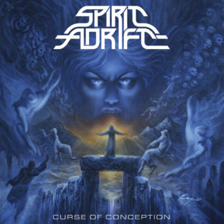 SPIRIT ADRIFT Curse Of Conception - Vinyl LP (blue with red and white splatter)