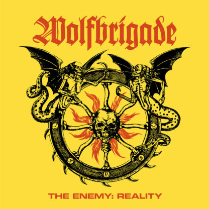 WOLFBRIGADE The Enemy : Reality - Vinyl LP (black)