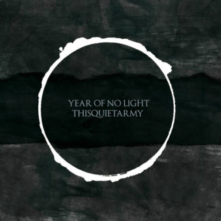 YEAR OF NO LIGHT / THISQUIETARMY Split / Collaboration - Vinyl LP (black)