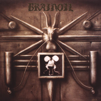 BRAINOIL S/t - Vinyl LP (bone)