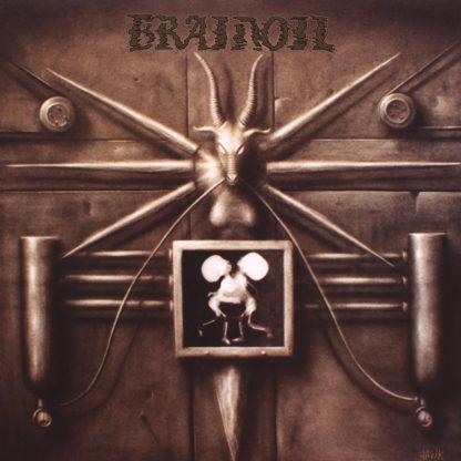 BRAINOIL S/t - Vinyl LP (bone)