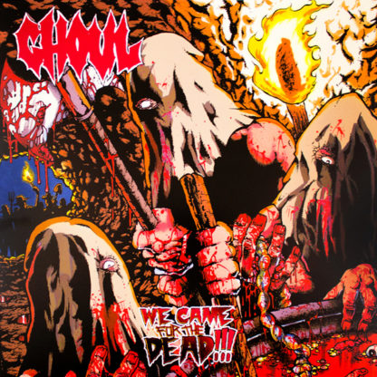 GHOUL We Came For The Dead!!! - Vinyl LP (blue)