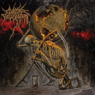CATTLE DECAPITATION Death Atlas - Vinyl 2xLP (orange marbled)