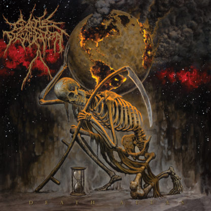 CATTLE DECAPITATION Death Atlas - Vinyl 2xLP (orange marbled)
