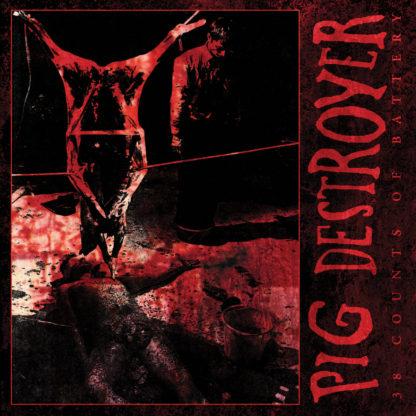 PIG DESTROYER 38 Counts Of Battery - Vinyl LP (black)