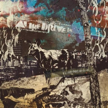 AT THE DRIVE-IN In•ter a•li•a - Vinyl LP (clear with purple streaks)