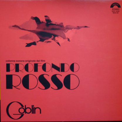 GOBLIN Profondo Rosso - Vinyl LP (black)