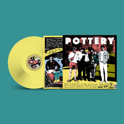 POTTERY Welcome To Bobby's Motel - Vinyl LP (hot dog yellow)