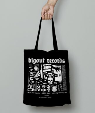 Tote bag Bigoût Records by Gérald Tournier