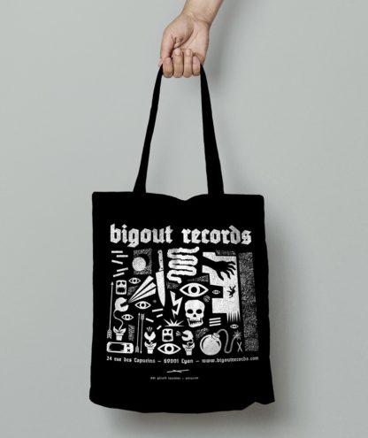 Tote bag Bigoût Records by Gérald Tournier