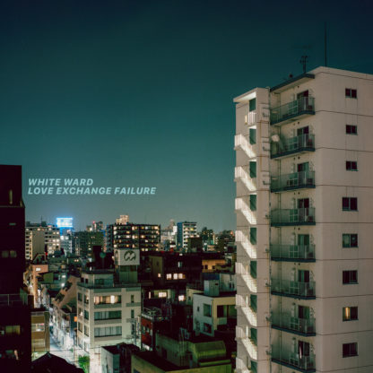 WHITE WARD Love Exchange Failure - Vinyl 2xLP (electric blue / sea blue merge with white & mustard splatters)