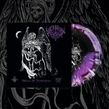 ARCHGOAT Whore Of Bethlehem - Vinyl LP (purple & black, white splatter)