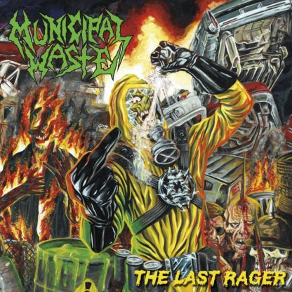 MUNICIPAL WASTE The Last Rager - Vinyl LP (black)