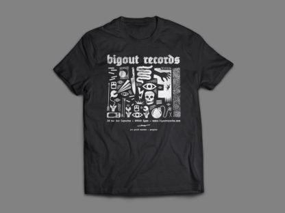 BIGOÛT RECORDS Gérald Tournier / Pangram - T-shirt (black)