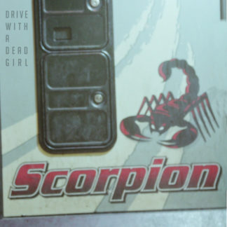 DRIVE WITH A DEAD GIRL Scorpion - Vinyl LP (black)