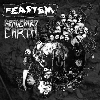 FEASTEM Graveyard Earth - Vinyl LP (black)