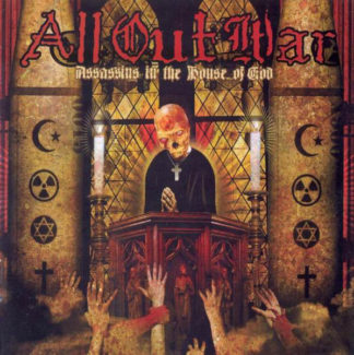 ALL OUT WAR Assassins In The House Of God - Vinyl LP (yellow)