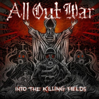 ALL OUT WAR Into The Killing Fields - Vinyl LP (grey)