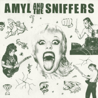 AMYL AND THE SNIFFERS s/t - Vinyl LP (black)