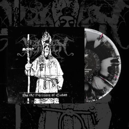 BEHEXEN By The Blessing Of Satan - Vinyl LP (black and white merge with red splatter)