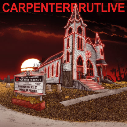 CARPENTER BRUT Live - Vinyl 2xLP (black)