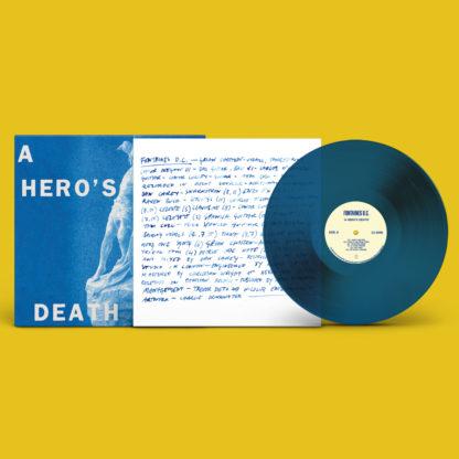 FONTAINES D.C. A Hero's Death - Vinyl LP (stormy blue)