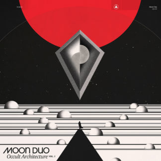 MOON DUO Occult Architecture Vol. 1 - Vinyl LP (black and red marble)