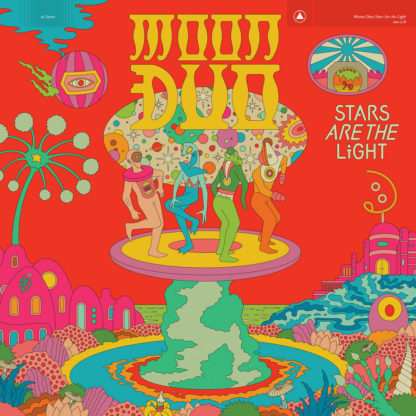 MOON DUO Stars Are the Light - Vinyl LP (red)