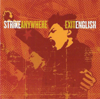 STRIKE ANYWHERE Exit English - Vinyl LP (black)