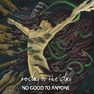 TODAY IS THE DAY No Good To Anyone - Vinyl LP (gold with red and green splatter)