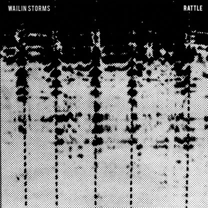 WAILIN STORMS Rattle - Vinyl LP (red | red and black swirl)