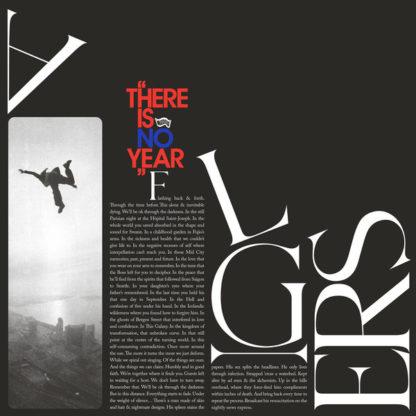 """ALGIERS There Is No Year - Vinyl LP (black) + Flexi 7"""" (blue transparent)"""