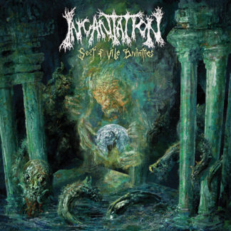INCANTATION Sect of Vile Divinities - Vinyl LP (olive green and mustard galaxy)