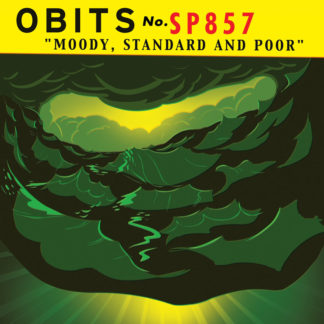 OBITS Moody Standard And Poor - Vinyl LP (black)
