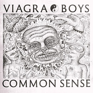 VIAGRA BOYS Common Sense - Vinyl LP (blue)