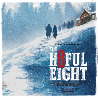 ENNIO MORRICONE The H8ful Eight Ost - Vinyl 2xLP (black)