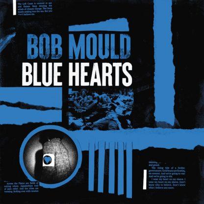 BOB MOULD Blue Hearts - Vinyl LP (tri-color)