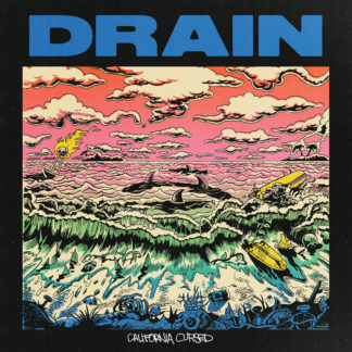 DRAIN California Cursed - Vinyl LP (yellow)